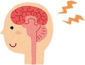 脳からの神経伝達イラスト